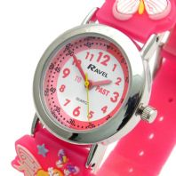 Ravel Kids Childs Fairy Design Watch 3D Silicone Strap 1513.76